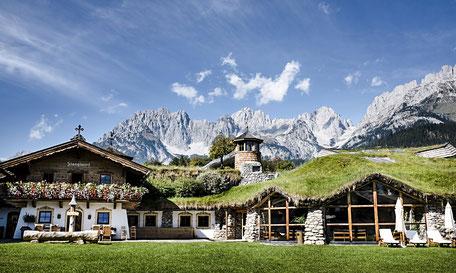 ANCRAGE jetzt auch im Bio- & Wellnesshotel Stanglwirt im Tiroler Going / Kitzbühel