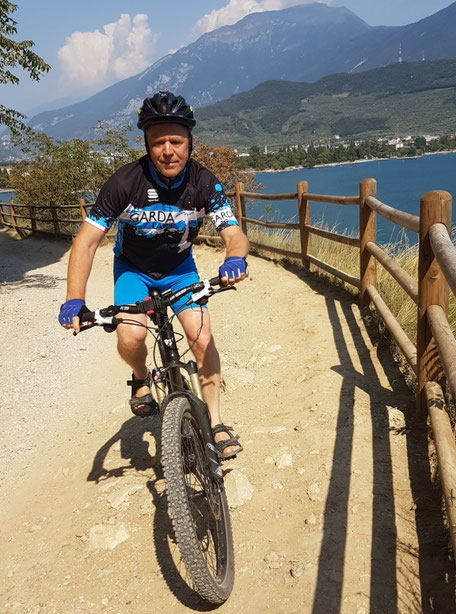 Mountainbiken am Gardasee