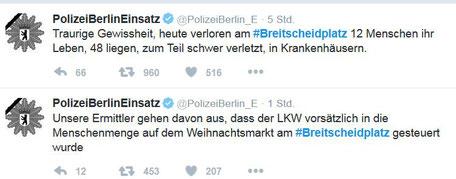 Screenshot früh 20.12.2016 PolizeiBerlinEinsatz zu #Breitscheidplatz