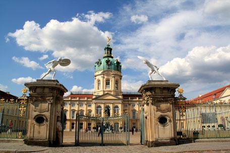 Schloss Charlottenburg mit dem Portal zum Ehrenhof. Foto: Helga Karl