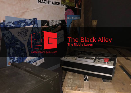 The Black Alley, The Riddle Luzern