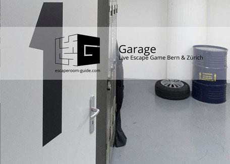 Garage, Live Escape Bern & Zürich