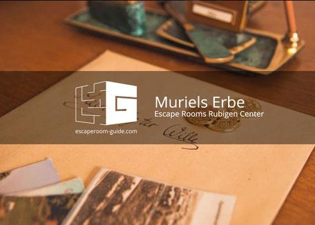 Muriels Erbe, Escape Rooms Rubigen Center
