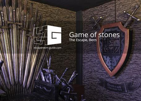 Game of Stones, The Escape, Bern