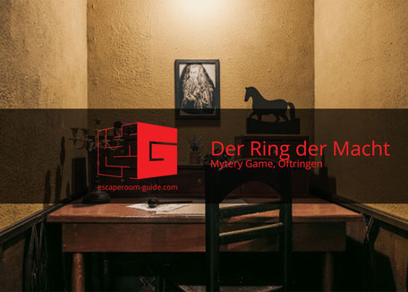 Ring der Macht, Mystery Game