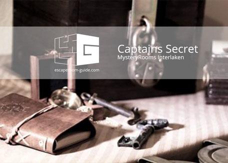Das Geheimnis des Captains, MysteryRooms Interlaken