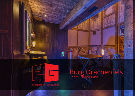 Burg Drachenfels, Room Escape Basel