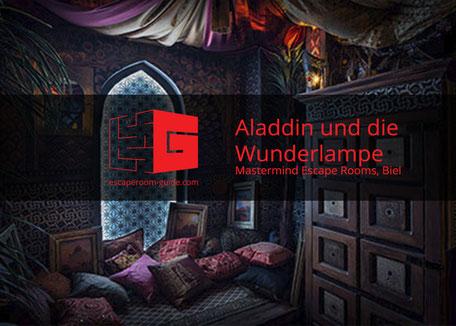 Aladdin und die Wunderlampe, Mastermind Escape Rooms, Biel