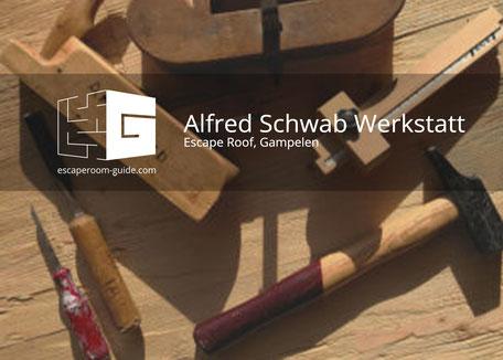 Alfred Schwab Werkstatt, Escape Roof, Gampelen