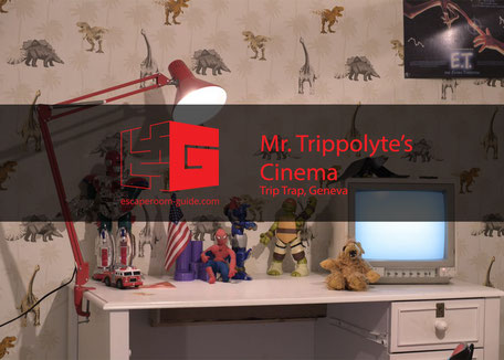 Mr. Trippolyte's Vestibule by Grand Trip Trap Hotel on escaperoom-guide.com