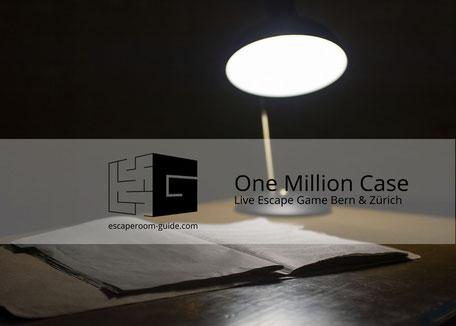 One Million Case, Live Escape Game Bern &/ Zürich