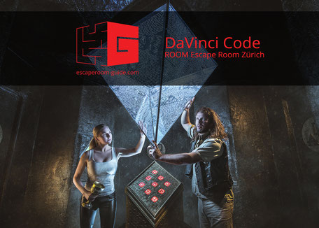 DaVinci Code, ROOM Escape Room Zürich on escaperoom-guide.ch