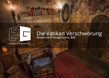 DIE VATIKAN VERSCHWÖRUNG von MASTERMIND ESCAPEROOMS, Biel
