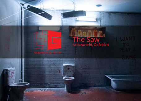 The Saw, Actionworld Obfelden on escaperoom-guide.ch