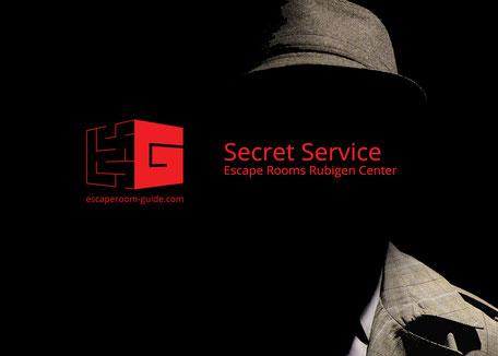 Secret Service, Escape Rooms Rubigen Center