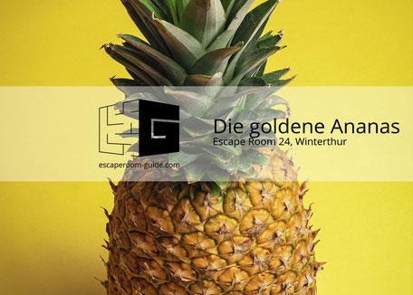 Die Goldene Ananas auf escaperoom-guide.com