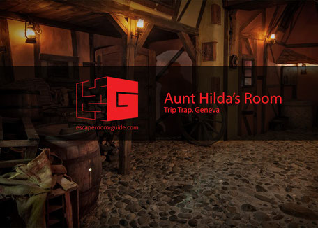 Aunt Hilda's Room by Grand Trip Trap Hotel on escaperoom-guide.com
