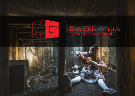 Das Geisterhaus, ROOM Escape Room Zürich on escaperoom-guide.ch