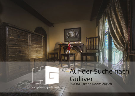 Auf der Suche nach Gulliver, ROOM Escape Room Zürich on escaperoom-guide.ch