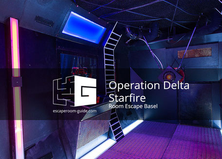 Operation: Delta Starfire, Room Escape Basel