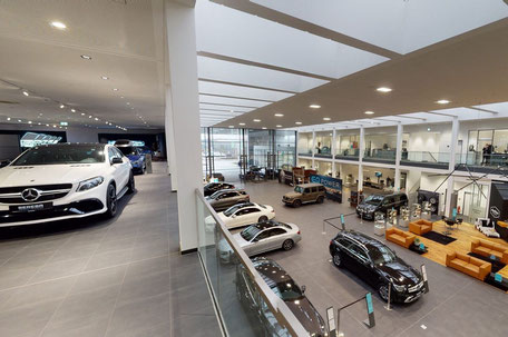 Automobil-Showroom