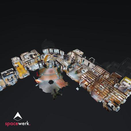 Riesenbeck - Der Küchenkotten - Dollhouse-Ansicht