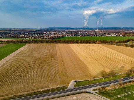 Luftaufnahme GIG Kaster, © Raoul Juchem