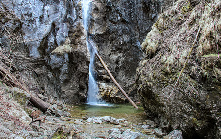 Lainbach Wasserfall, Wasserfall in Bayern Kochel am See