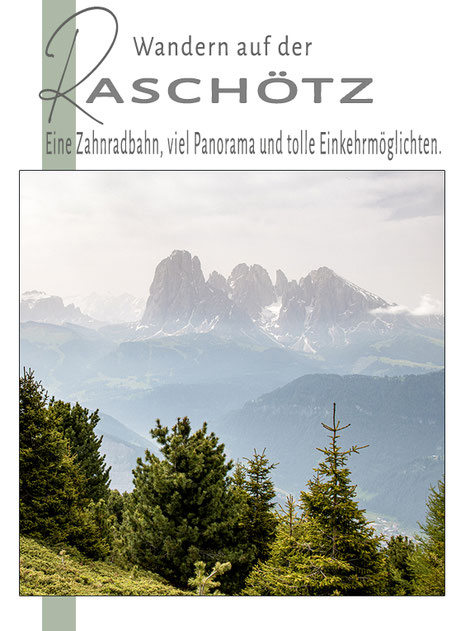 Wandern mit Hund  Bergurlaub mit Hund  Urlaub in Südtirol  Raschötz Ausserraschötz