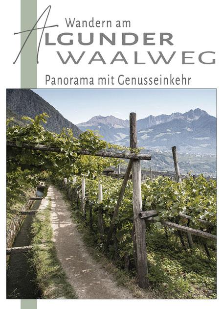 Wandern mit Hund  Bergurlaub mit Hund  Urlaub in Südtirol  Algunder Waalweg