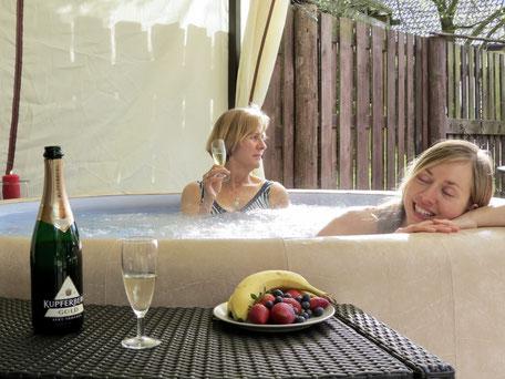 Ferienhaus MV mit Pool, Jacuzzi, Whirlpool