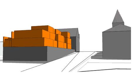 schematischer Aufbau, Wuppertal Cronenberg