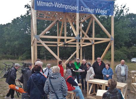 Interessenten am Wohnprojekt in Barkenberg