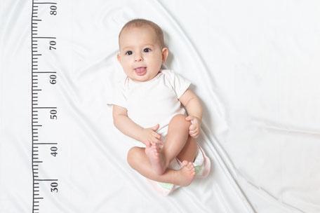 Control de talla bebé