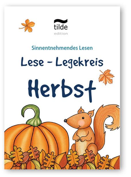 Legekreis Herbst für das Lesetraining im Fach Deutsch