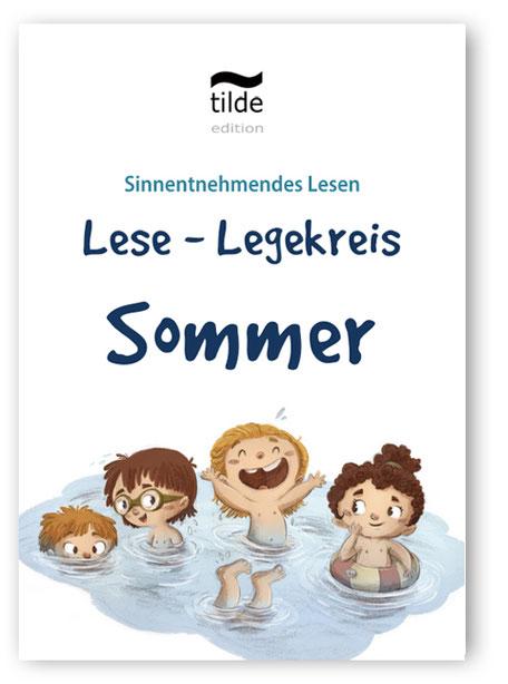 Legekreis Sommer für das Lesetraining im Fach Deutsch