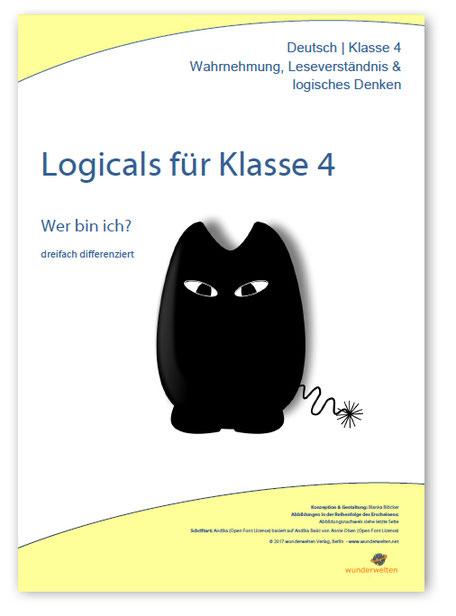 Material für die Leseförderung in der Grundschule: Logicals für Klasse 4