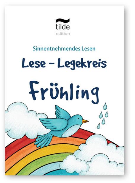 Legekreis Frühling für das Lesetraining im Fach Deutsch