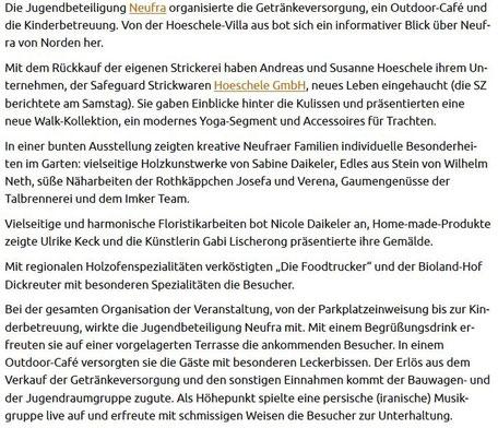 Schwäbische Zeitung - 08-10-2017 -