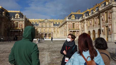 Private guide Versailles post covid