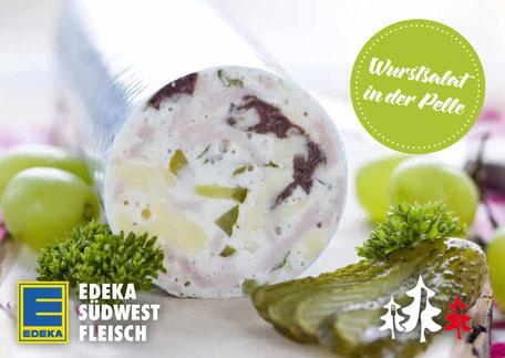 Wurstsalat in der Pelle EDEKA Schwarzwälder Tapas