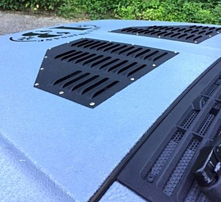 PROTECTAKOTE Antirutschfarbe auf Jeep Cherokee