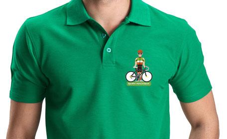 Van Bun Communicatie en Vormgeving - Gepersonaliseerde Wielrenners - polo's en T-shirts