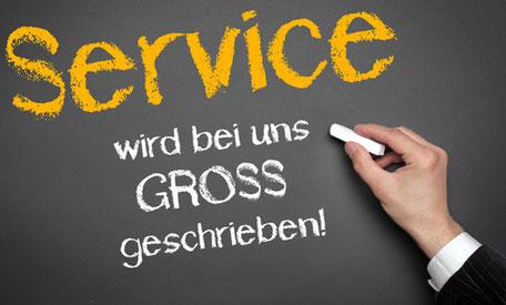 Service, Reparaturen, Ersatz, Nachrüstung, Dienstleistung, Kundenzufriedenheit