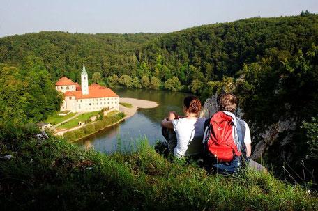 Weltenburger Enge, Foto: Tourismusverband Ostbayern e.V.
