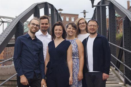 von links nach rechts: Marie, Henning, Patrick, Antonia, Lena und Lennart