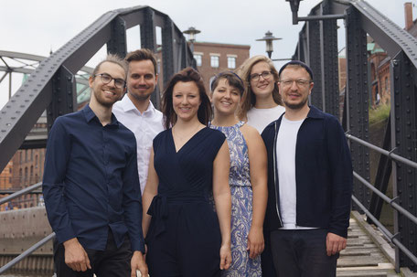 von links nach rechts: Nicolas, Henning, Antonia, Lena, Marie, Patrick