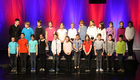 Chor der fünften Klassen