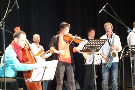 école musique concert professeurs violon violoncelle Devezou