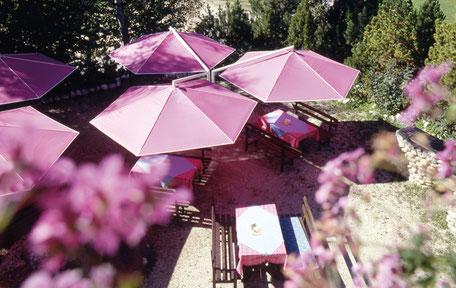 Büschking Heeslingen Sonnenschirme für privat und Gastronomie